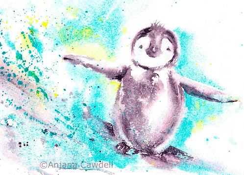 Penguin, Open Edition Giclée Print