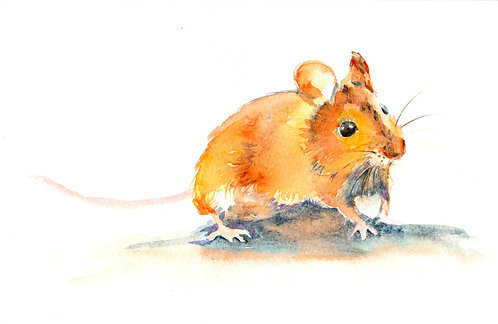 Mouse Original Painting