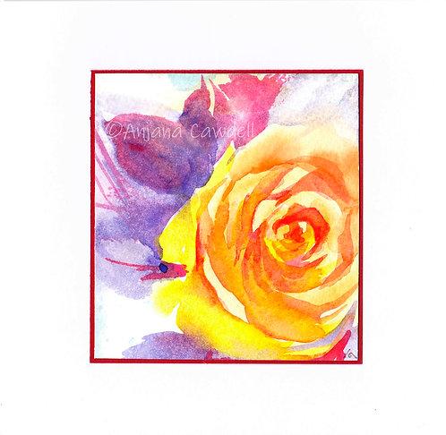 Handmade Cards Summer Florals, Mini originals