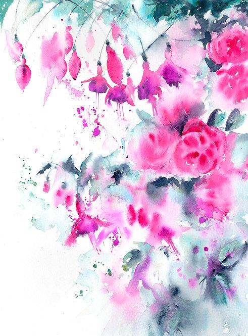 Fuchsia &  Rose