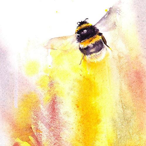 Original bumble bee painting