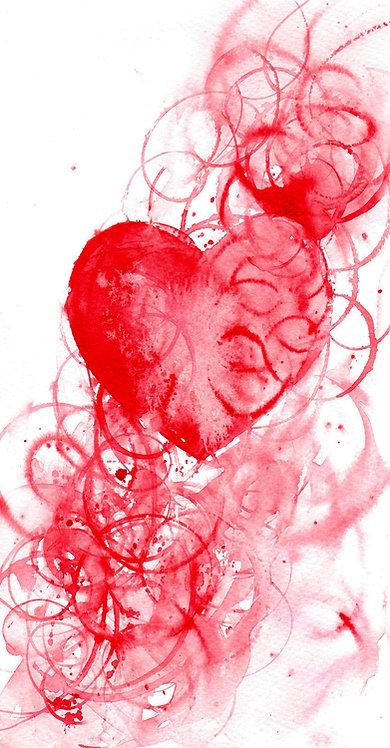 Original Heart Painting
