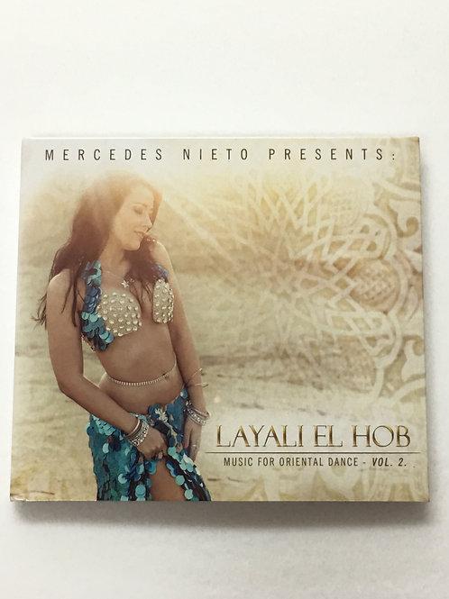 Mercedes Nieto MUSIC for ORIENTAL DANCE VOL.2