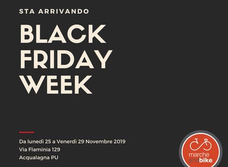 Arriva il BLACK FRIDAY WEEK
