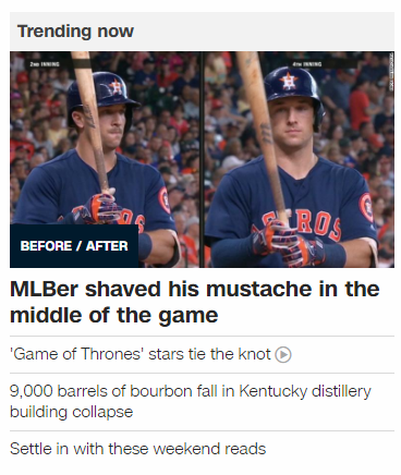 MLB shaved