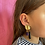 Thumbnail: Agat statement earring #2 one-of-a-kind