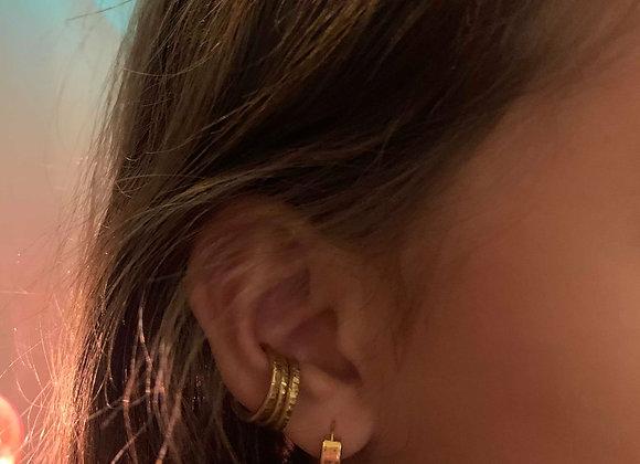 Ear cuff - brass