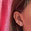 Thumbnail: Chuncky sterling silver earcuff
