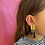 Thumbnail: Agat statement earring #1 one-of-a-kind