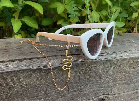 Eyeglass chain -Snake