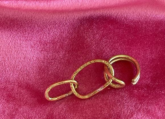 Big Chain ear-cuff