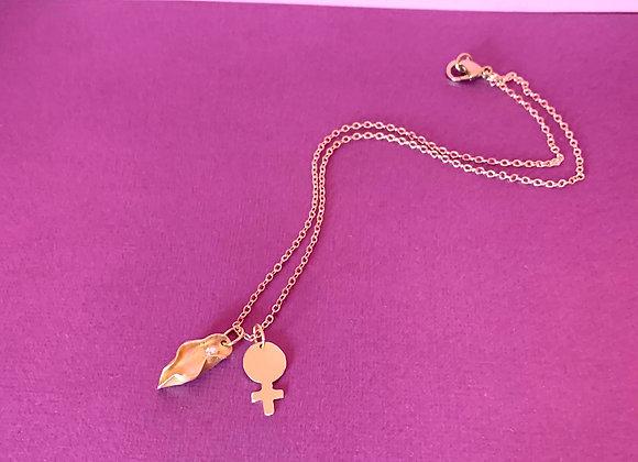 Mini Venus+Pussy necklace