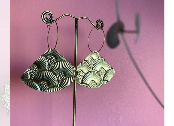 Sunfeather earrings