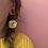 Thumbnail: Golden nugget earrings