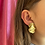 Thumbnail: Round wave earring - one of a kind
