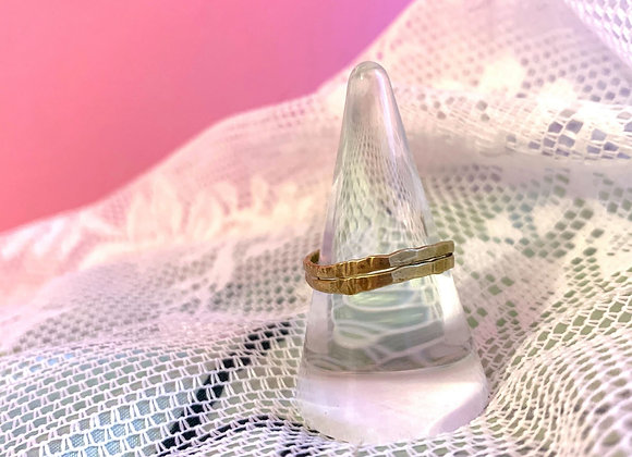 Double brass ring