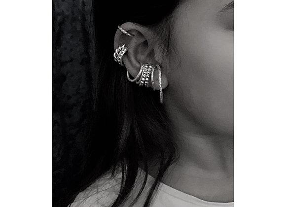 Ear-cuff - sterling silver