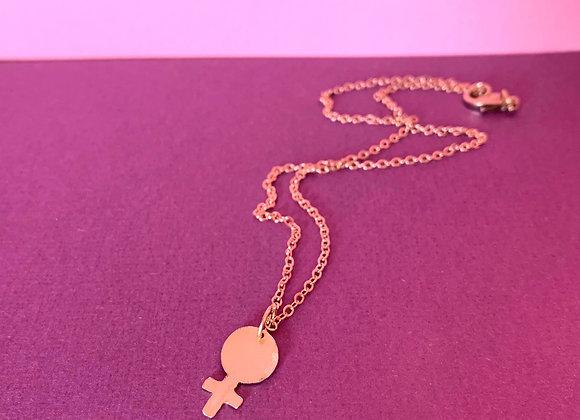 Mini Venus necklace