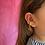 Thumbnail: Uterus earcuff - brass