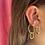 Thumbnail: Big Chain ear-cuff
