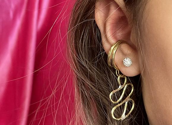Asymmetrical earcuff