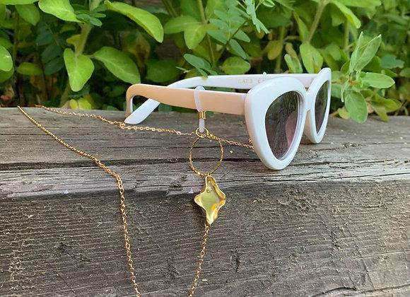 Eyeglass chain - pussy