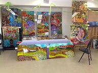 Atelier de peinture sur plexiglas, SACQ, Québec