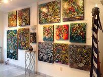 Exposition à la galerie Dante, mexique