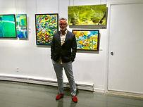 Expo à la galerie ZEN, Lac Beauport, Québec