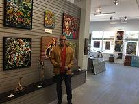 Expo à la galerie ZEN, Lac Beauport