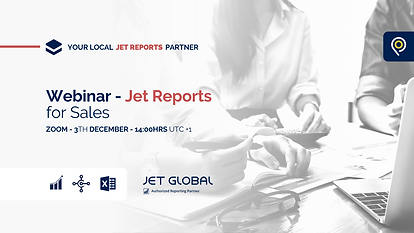 Jet Reports for Sales