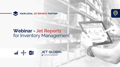 Jet Reports for Inventory Management