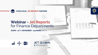 Jet Reports for Finance Departments