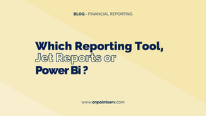 Which Reporting Tool, Jet Reports or Power Bi?