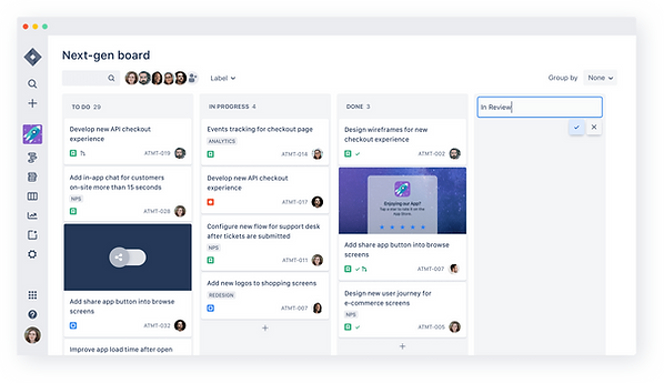 Jira Board Atlassian