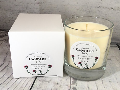 Perfume Inspired large Candles