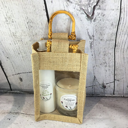 Gift Bags - Lotion and Candle