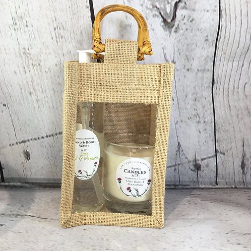 Gift Bags - Soap and Candle
