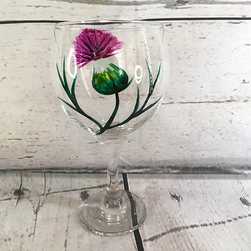 Hand Painted Gin Glasses