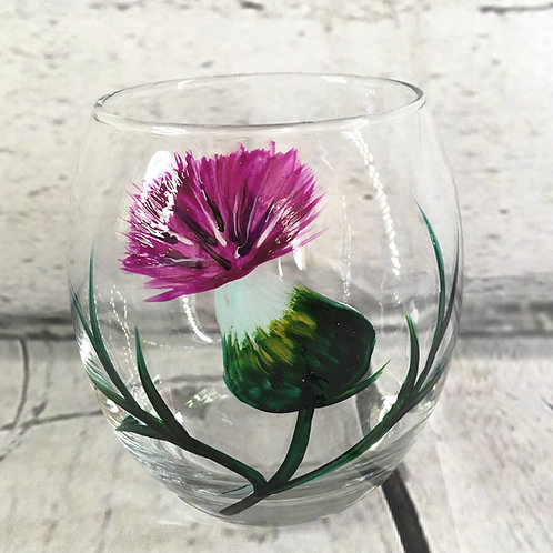 Hand Painted Whisky Glasses