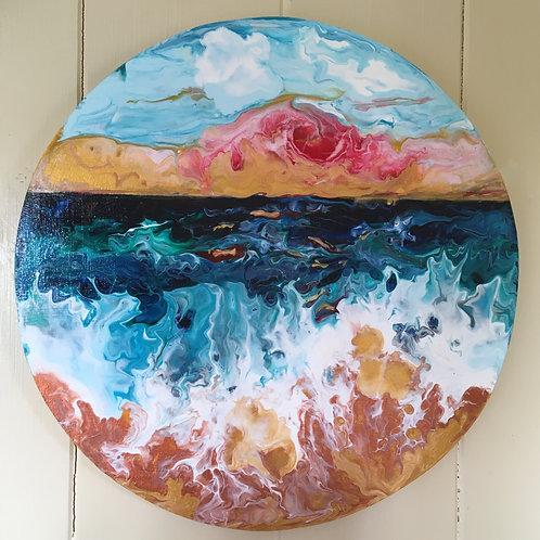Sunset Sea Scape
