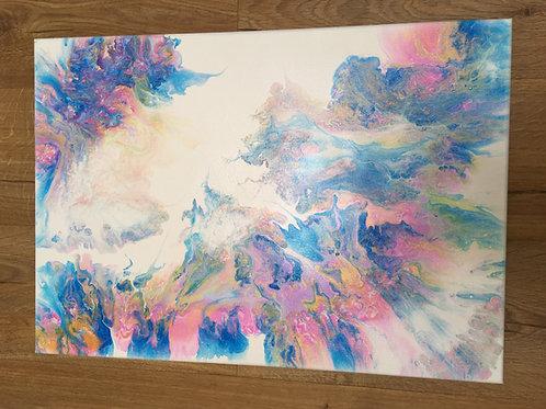 Fluid Art Canvas 600 x 420 x 20mm