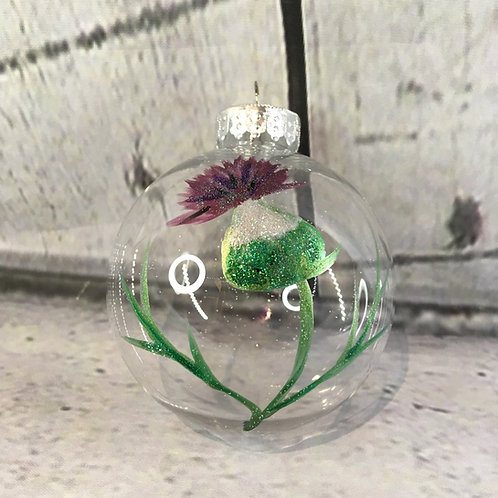 Hand Painted Tree Bauble