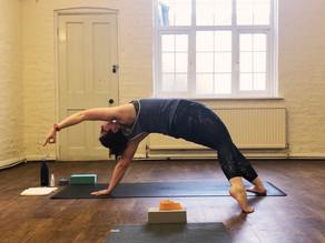 Yoga teachers aren't superhuman... we get hurt too!