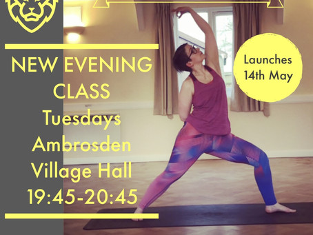 NEW CLASS! Tuesday Late Evenings at Ambrosden!