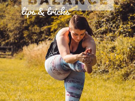 Balance: Tips & tricks for improving your balance