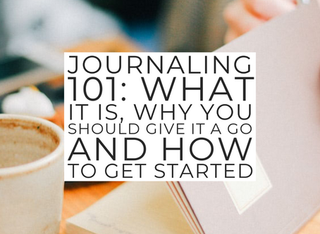 Journaling 101: Introduction to journaling