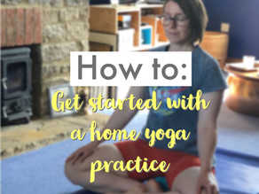 How to: Get started with a home yoga practice