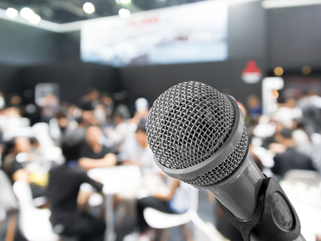 Want to be an MC for your next corporate event? Here are 8 steps