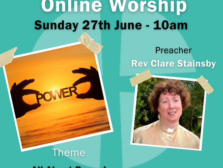 Sunday 27th June 2021 - All About Power!